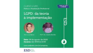 curso online LGPD