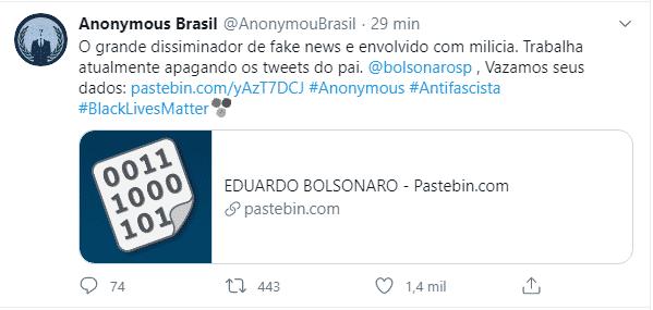 anonymous brasil bolsonaro