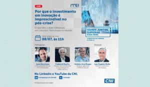 Live: Por que o investimento em inovação é imprescindível no pós-crise