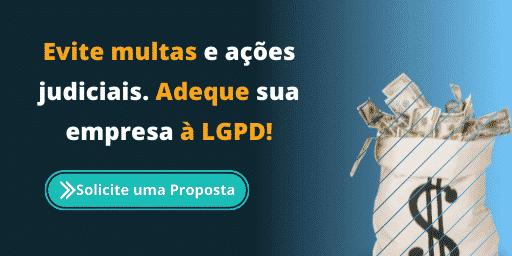em conformidade com a LGPD